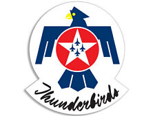 3x5 inch Thunderbirds Logo Sticker -decal air force usaf military army bumper us