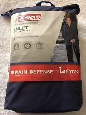 Brand New Men's Coleman Inlet Rain Jacket Size Medium