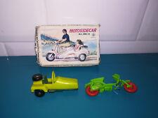 09.09.18.2 Maquette moto CGGC grisoni motosidecar  jouet plastique