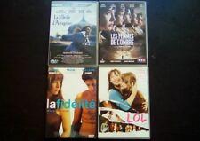 SOPHIE MARCEAU : LOT 5 films DVD LA FIDELITE + LES FEMMES DE L'OMBRE + LOL ...