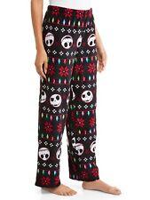 Nightmare before Christmas pajamas womens 2X pants fleece lights new 18W/20W