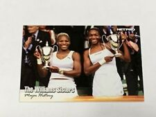 "VENUS AND SERENA WILLIAMS 2003 NETPRO ""WIMBLEDON FINALS"" DUAL ROOKIE CARD! RARE!"