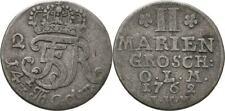 2 Mariengroschen 1762 Oldenburg Friedrich von Dänemark, Krone #ZWI138