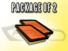 AIR FILTER AF4357 FOR 1986 1987 MAZDA 626 PACKAGE OF TWO