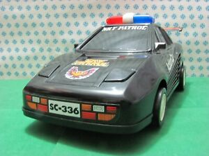 Vintage Jouet - Sky Patrol Action Voiture Batterie Operated, 32 CM Taiwan 1983