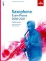 ABRSM: Saxophone Exam Pieces 2018–2021, ABRSM Grade 1 Saxophone, Piano Accompani