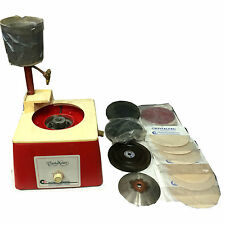 CRYSTALITE CORP CRYSTAL MASTER MODEL 50-503 LAPIDARY GRINDER WITH EXTRAS