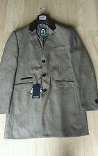 Hommes créateur marc darcy harrington messi veste couleur marron clair taille 46R vente bon marché