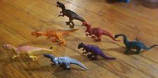 Lot of 7 Jaru Greenbriar Dinosaurs Trex Velociraptor Brontosaurus
