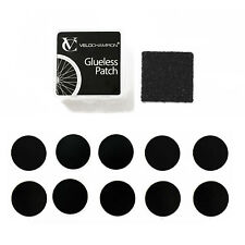 VeloChampion 10 Pack Puncture Repair Self-Adhesive Glueless Bike Repair Patches