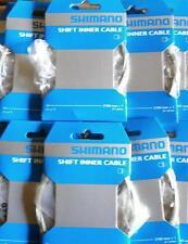 Cable de dérailleur origine Vélo / VTT Shimano 1,2mm / 2100mm (avec embout) .