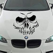 """Grand 23x16/"""" Grim Reaper Racing Drapeaux Voiture Capot Côté Vinyle Autocollant Wall Art"""