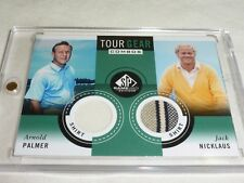 Jack Nicklaus & Arnold Palmer Tour Gear Combos Shirt SP Authentic Game Used