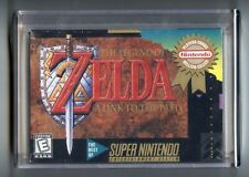 THE LEGEND OF ZELDA: A LINK TO THE PAST (SNES Game) Super Nintendo A