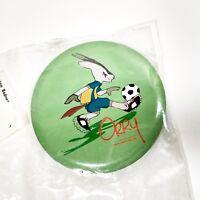 Asian Games Pin Doha 2006 Qatar Orry Mascot Soccer Badge Pinback Button