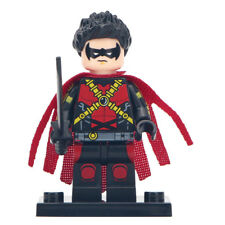 Red Robin (Version 2) - Marvel DC Comics Lego Moc Minifigure Gift For Kids