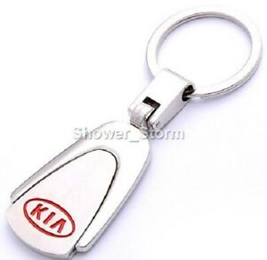 KIA Keyring NEW UK Seller Boxed or UnBoxed Key Ring Chain Silver
