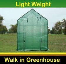 Garden Green House - Walk in Mini Hot House + Shelves - Greenhouse GH 07
