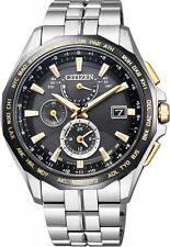 2017 NEW CITIZEN ATTESA Atesa Eco-drive radio clock AT9095-50E Men's from japan
