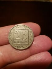 1903 France 25 centimes coin Circulated Ungraded