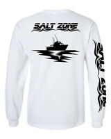 Salt Zone Performance Wear,Mens saltwater short sleeve fishing shirt,reel life