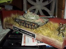 Vietnam Scene M-48 Pattebn Tank Built Painted Diorama
