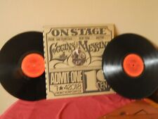 Loggins And Messina Loggins And Messina On Stage 2 LPs 33 RPM song titles listed