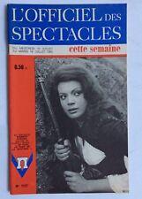 ►L'OFFICIEL DES SPECTACLES 1127/1968 KAREEN O'HARA -ROBERT NEWTON-BOBBY DRISCOLL