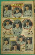 Original 1928 June 9th La Presse Lachine City Quebec Baseball Team Premium Photo