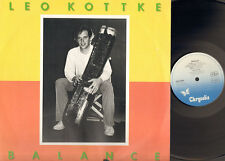 LEO KOTTKE Balance LP 1979 HIGH QUALITY PRESSING Chrysalis-Phonogram