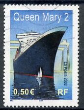 STAMP / TIMBRE FRANCE OBLITERE N° 3631 PAQUEBOT LE QUEEN MARY