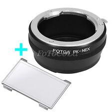 FOTGA Adapter for Pentax PK K lens to Sony NEX-3 NEX-5 5N NEX-6 7 A5000 E mount
