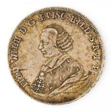 Münze 2/3 Taler Friedrich Wilhelm Hildesheim Silber 1764 ss