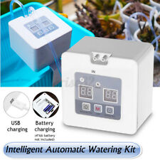 Micro Automatic Drip Irrigation Plant Kit Self Watering System 30 Day Timer USB