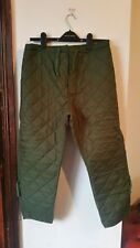Army Issue Extreme Cold Weather liner Pants Size 76/94