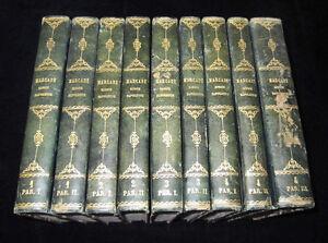 Napoleonica. Diritto. V. N.  Marcadé: Spiegazione del Codice Napoleone. 1856