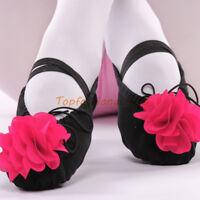 New Child Girls Soft Ballet Dance Shoes Girls Split-Sole Canvas Yoga Dance Shoes