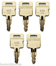 #105 - 5 X Caterpillar SP8500 key - SP8500 cat plant key 5 pack