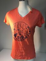 Abbot & Main Ladies Short Sleeve V-neck Graphic Tee Small FREE SHIPPING