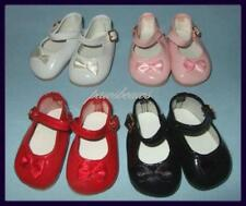 """SAVE 30% on 4 pair Patent Mary Jane Doll SHOES for 14"""" PATSY And Patsy Joan"""