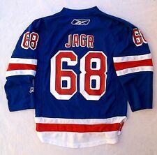 New York Rangers NHL Youth Reebok CCM Jaromir Jagr Jersey (S/M) VGUC