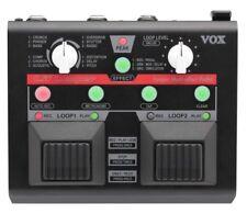 Pedali Vox per effetti looper e sampler di chitarre