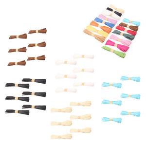 6 Roll Natural Raffia Bundle Craft Packing Paper Twine, Invitation Card DIY