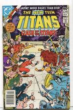 The New Teen Titans #12 NM Clash Of The Titans  DC Comics CBX31