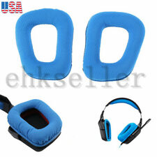 Replacement Ear Pads Cushions for Logitech G35 G430 F450 Headphones Blue US