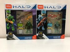 Mega Blocks Halo Oversheild And Active Camo Power Pack FMM83 AND FPJ25