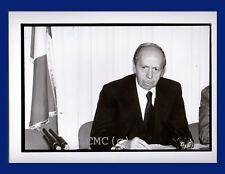 FOTOGRAFIA PRESS PHOTO VINTAGE ROMA 1993 POLITICO LAMBERTO DINI EX PRESIDENTE *