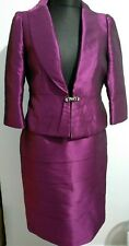 Sonia Pena 2 piece Jacket and Skirt Pink size 44 /14 mother of bride occasion