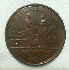 1807 british abolition of slavery token choice brown planchet