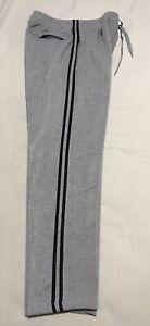 Men's BAXTER BASICS Fleece Lined Grey Trackpants -L- NWOT